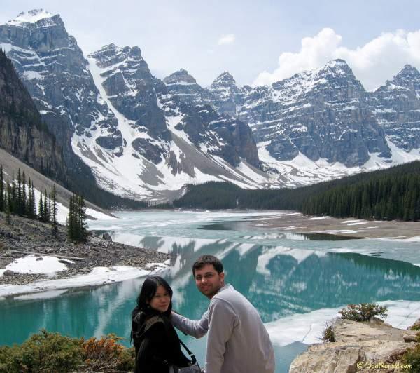 Valley of the Ten Peaks, Canadian Rockies
