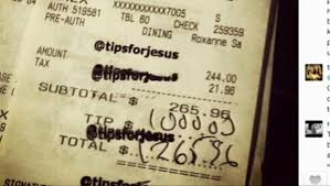 http://www.cbsnews.com/news/what-would-jesus-tip-3000-gratuity-left-for-san-francisco-waitress/